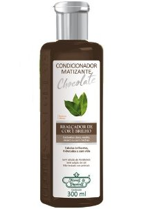 Condicionador Flores e Vegetais Matizante Chocolate 300ml