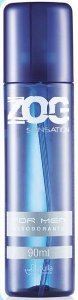 Desodorante Zog Aerosol Sensation For Men 90ml