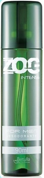 Desodorante Zog Aerosol Intense For Men 90ml