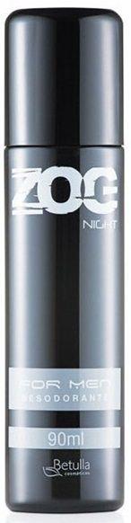 Desodorante Zog Aerosol Night For Men 90ml