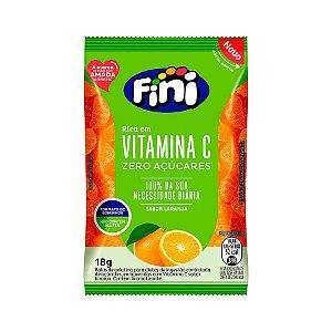 Balas Fini com Vitamina C 18grs -Zero Açúcar