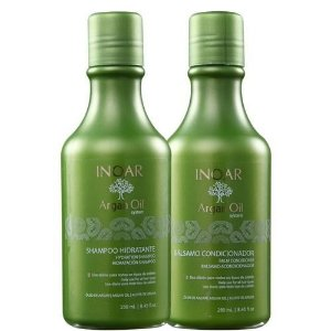Inoar Kit Shampoo+Condicionador Argan Oil 250ml cada