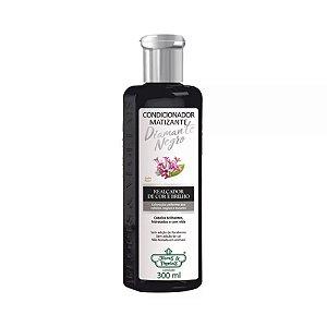 Shampoo Flores e Vegetais Matizante Diamante Negro 300ml