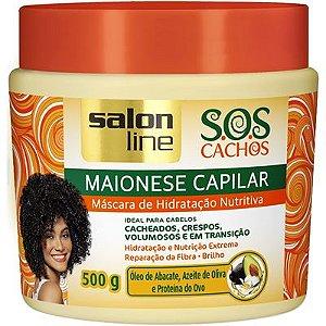 Máscara Salon Line Maionese Capilar SOS Cachos 500g