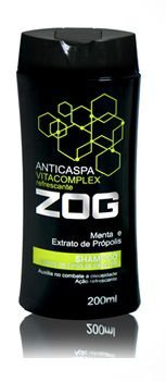 Shampoo Anticaspa VIitacomplex Menta e Propolis 200ml - Zog