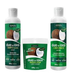 Kit Vita Seiva Sh+Cond+Manteiga de Óleo de Coco