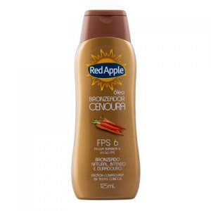 Red Apple Óleo Bronzeador Cenoura FPS 6 125mL