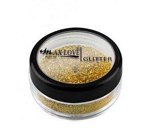Max Love Glitter 17 Dourado