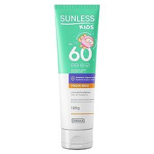 Sunless Protetor Solar FPS 60 Kids 120g