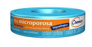 Fita Microporosa Cremer Branca 1,2cm x 4,5m