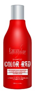 Forever Liss Professional Shampoo Color Red 300mL