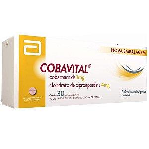 Cobamamida+Ciproeptamida - COBAVITAL 30CPR
