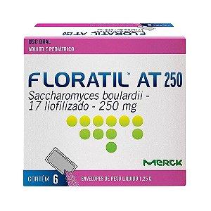 FLORATIL AT 250 com 6 SACHES - MERCK
