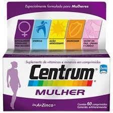 Centrum Select Mulher 60CPR