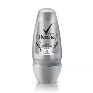 Desodorante Rexona Roll on Men Sem Perfume 50ml