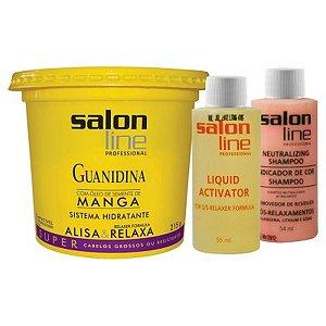 Salon LIne Guanidina Manga Cabelos Grossos 215g