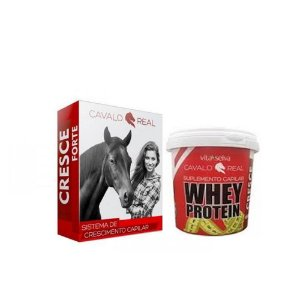 Kit Whey Protein Vita Seiva + Cavalo Real