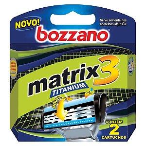 Carga Bozzano Matrix3 Titanium  c/2unid