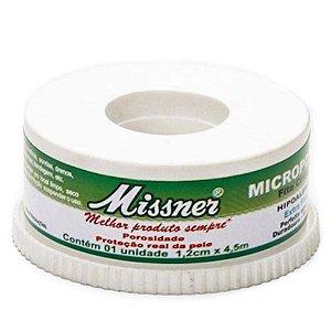 Fita Microporosa Missner  1,2m X 10 Metros