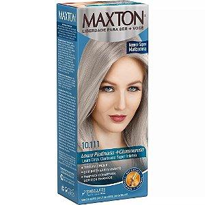 Tintura Maxton Kit 10.111 Louro Cinza Claríssimo Super Inten