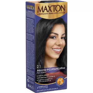 Tintura Maxton Kit 2.1 Preto