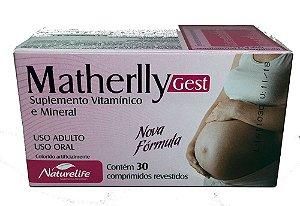 MATHERLLY GEST 30cpr - NATURELIFE