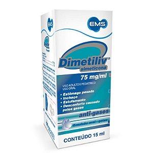 Simeticona 15ml - DIMETILIV - EMS