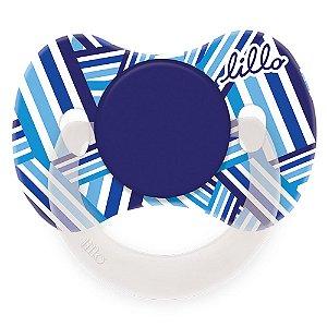 Chupeta Lillo Funny Tradicional Nº1  Azul Ref:605220