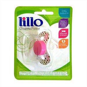 Chupeta Lillo Funny Ortodontica  N 2 Ref:605330 Rosa
