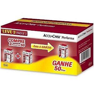 Accu-Chek Performa Embalagem Leve 3 Pag 2 (3x50 = 150 Tiras)
