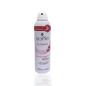 Desodorante Soffie Flower Aerosol 48H 300ML