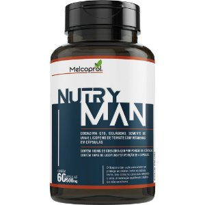 NUTRY MAN 500MG 60CAPS MELCOPROL
