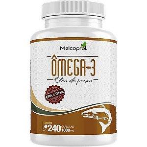 Omega-3 1000mg 240 cápsulas - Melcoprol
