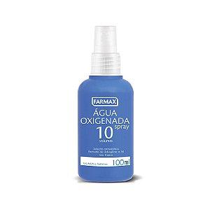 Agua Oxigenada Antisséptica Farmax Vol.10 Spray