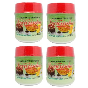 Adoçante Dietético Doçurinha 100gr - kit com 4 unidades