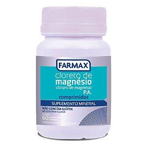 Cloreto de Magnesio 600MG P.A. 60 Cpr. Revestido Farmax