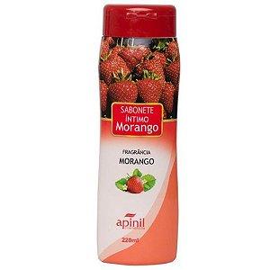 Sabonete Intimo Apinil Morango 220ml
