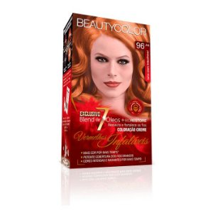 Tintura Beauty Color Kit Nova  96.44  RuivoClaro Indecifráve