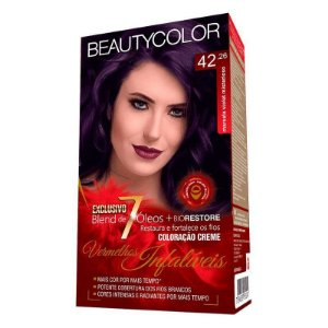 Tintura Beauty Color Kit 42.26 Marsala Violet Misterios