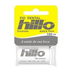 Fio Dental Hillo Extra Fino 100m