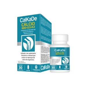 CALKADE CALCIO 600MG 30CPR CATARINENSE