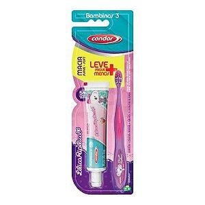 Escova de Dentes Condor Jr LilicaRipilica + Gel Dental