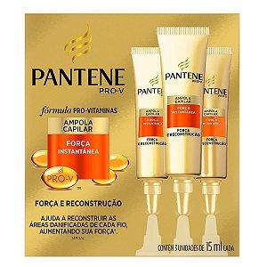 Pantene Ampola Hidratação Força Instantânea c/3 unidades