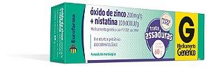 NISTATINA+OXIDO DE ZINCO  60g  EUROFARMA
