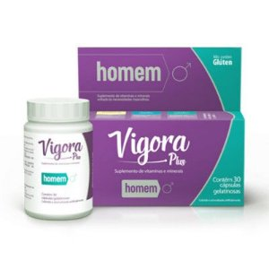 Vigora Plus Homen 60Caps Prati Donaduzzi