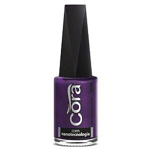 Esmalte Cora Shine Purple 9ml