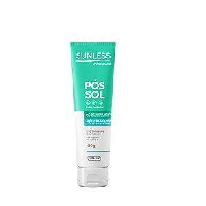 Loção Pós Sol Farmax Sunless Aloe Vera e Camomila 120ml