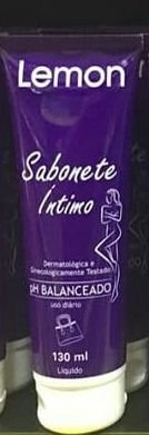 Sabonete Intimo Lemon PH Balanceado 130ml