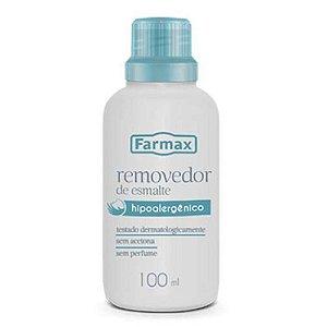 Removedor Sem Acetona Farmax  Hipoalergenico 100ML