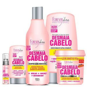 Kit Completo Desmaia Cabelo - Forever Liss